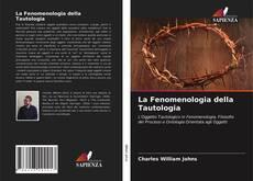 Portada del libro de La Fenomenologia della Tautologia