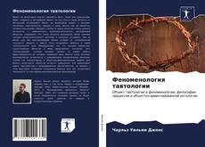 Bookcover of Феноменология тавтологии