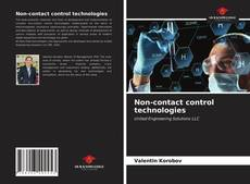 Bookcover of Non-contact control technologies