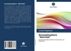 "Portada del libro de Konzeptosphäre ""Aktivität"""