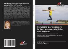 Capa do livro de Strategie per superare le barriere psicologiche nell'ascolto