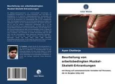 Buchcover von Beurteilung von arbeitsbedingten Muskel-Skelett-Erkrankungen