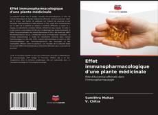 Bookcover of Effet immunopharmacologique d'une plante médicinale