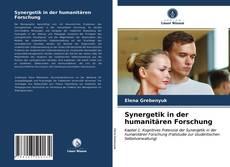Capa do livro de Synergetik in der humanitären Forschung