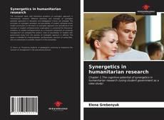 Borítókép a  Synergetics in humanitarian research - hoz