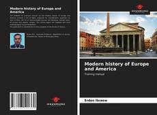 Couverture de Modern history of Europe and America