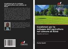 Borítókép a  Condizioni per lo sviluppo dell'agricoltura nel comune di Klinë - hoz