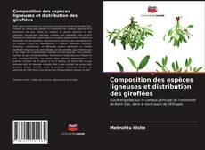 Portada del libro de Composition des espèces ligneuses et distribution des giroflées