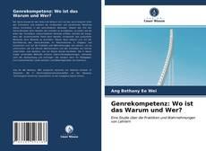 Bookcover of Genrekompetenz: Wo ist das Warum und Wer?