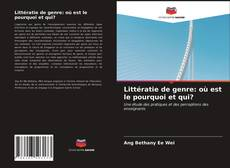 Bookcover of Littératie de genre: où est le pourquoi et qui?