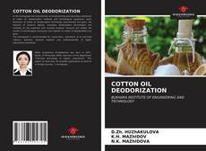 Borítókép a  COTTON OIL DEODORIZATION - hoz