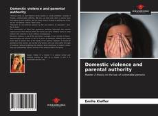 Buchcover von Domestic violence and parental authority