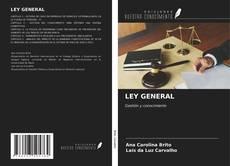 Couverture de LEY GENERAL