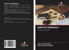 Capa do livro de DIRITTO GENERALE