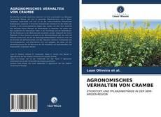 Capa do livro de AGRONOMISCHES VERHALTEN VON CRAMBE