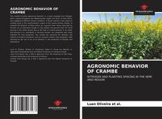 Buchcover von AGRONOMIC BEHAVIOR OF CRAMBE
