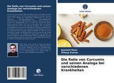 Capa do livro de Die Rolle von Curcumin und seinen Analoga bei verschiedenen Krankheiten