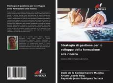 Copertina di Strategia di gestione per lo sviluppo della formazione alla ricerca