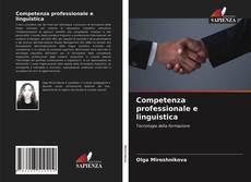 Buchcover von Competenza professionale e linguistica