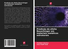 Portada del libro de Predição do efeito Bauschinger em materiais metálicos estruturais
