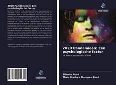 Bookcover of 2020 Pandemieën: Een psychologische factor
