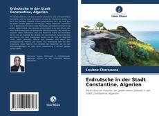 Portada del libro de Erdrutsche in der Stadt Constantine, Algerien