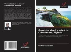 Portada del libro de Osuwiska ziemi w mieście Constantine, Algieria