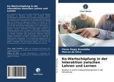 Bookcover of Ko-Wertschöpfung in der Interaktion zwischen Lehren und Lernen