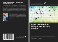 Buchcover von Aspecto filosófico y cultural del folclore musical