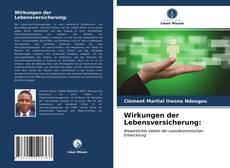 Borítókép a  Wirkungen der Lebensversicherung: - hoz
