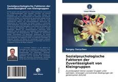 Bookcover of Sozialpsychologische Faktoren der Zuverlässigkeit von Kleingruppen