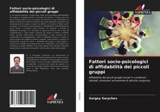 Couverture de Fattori socio-psicologici di affidabilità dei piccoli gruppi