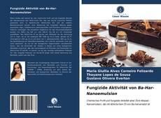 Capa do livro de Fungizide Aktivität von Ba-Har-Nanoemulsion