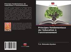 Couverture de Principes fondamentaux de l'éducation à l'environnement
