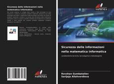 Portada del libro de Sicurezza delle informazioni nella matematica informatica
