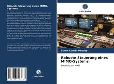 Portada del libro de Robuste Steuerung eines MIMO-Systems