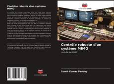 Couverture de Contrôle robuste d'un système MIMO