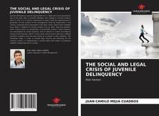 Couverture de THE SOCIAL AND LEGAL CRISIS OF JUVENILE DELINQUENCY