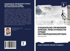 Portada del libro de СОЦИАЛЬНО-ПРАВОВОЙ КРИЗИС ПРЕСТУПНОСТИ СРЕДИ НЕСОВЕРШЕННОЛЕТНИХ