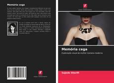Buchcover von Memória cega