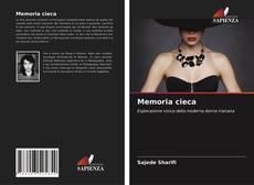 Copertina di Memoria cieca
