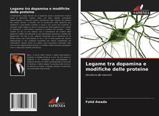 Bookcover of Legame tra dopamina e modifiche delle proteine