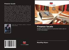 Finance locale kitap kapağı