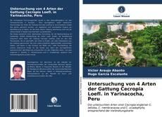 Buchcover von Untersuchung von 4 Arten der Gattung Cecropia Loefl. in Yarinacocha, Peru