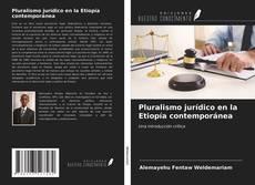 Portada del libro de Pluralismo jurídico en la Etiopía contemporánea