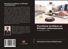 Capa do livro de Pluralisme juridique en Éthiopie contemporaine