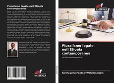 Capa do livro de Pluralismo legale nell'Etiopia contemporanea
