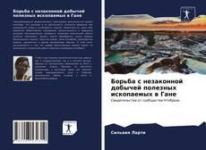 Bookcover of Борьба с незаконной добычей полезных ископаемых в Гане