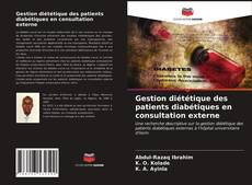 Обложка Gestion diététique des patients diabétiques en consultation externe