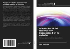 Buchcover von Adaptación de las personas con discapacidad en la sociedad